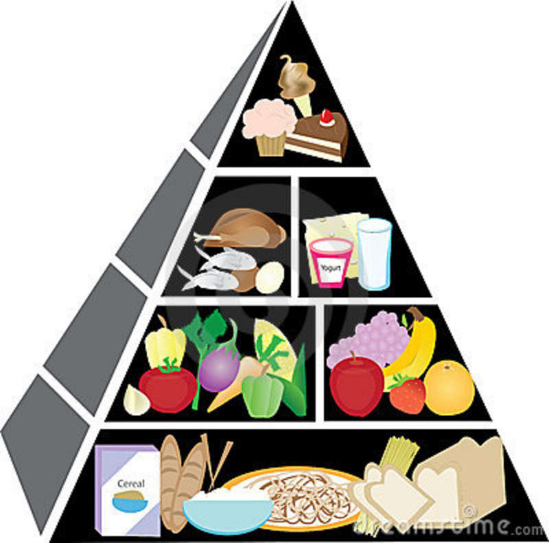 800x792 Food Pyramid For Kids Clipart