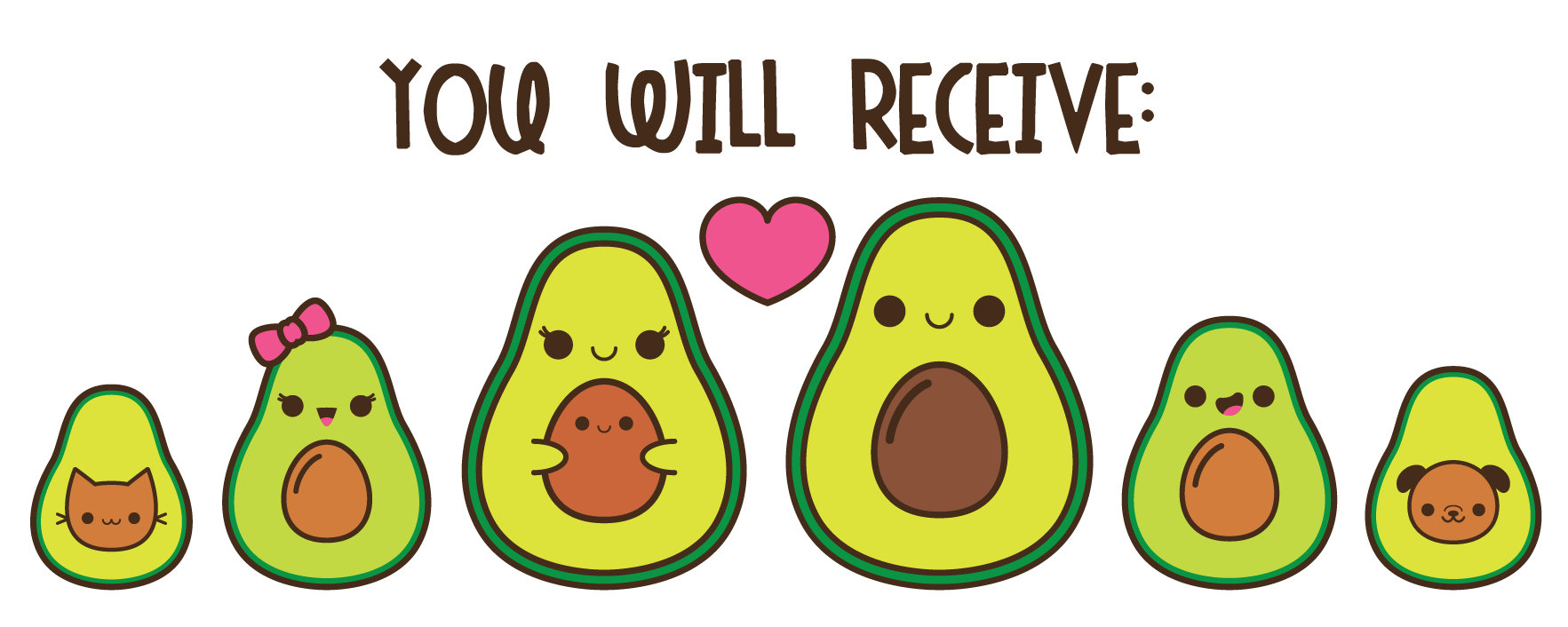 Cute Pictures Of Avocados