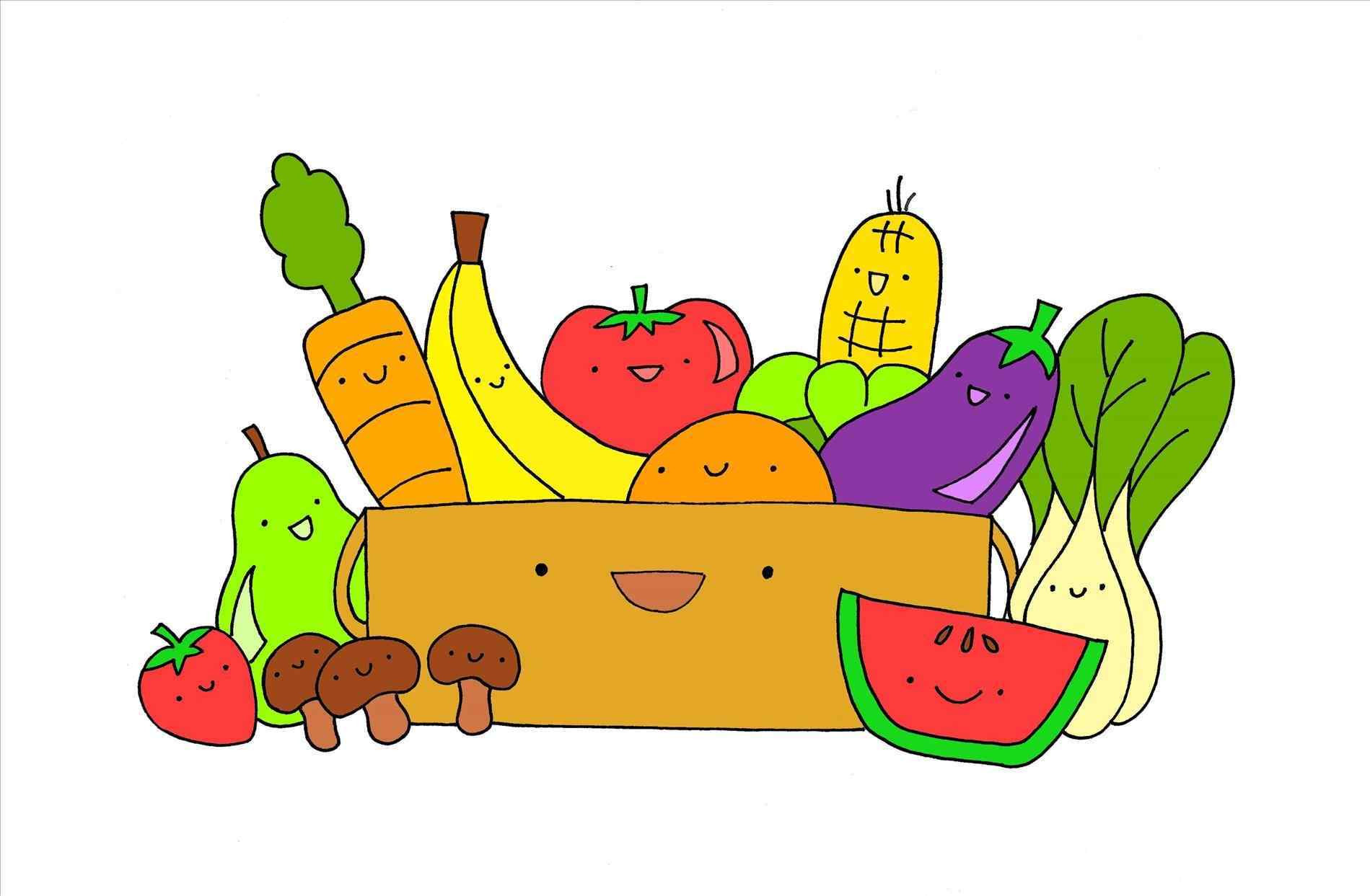 1899x1243 Clipart Of Healthy Food Images On Page 0 Yanhe Clip Art
