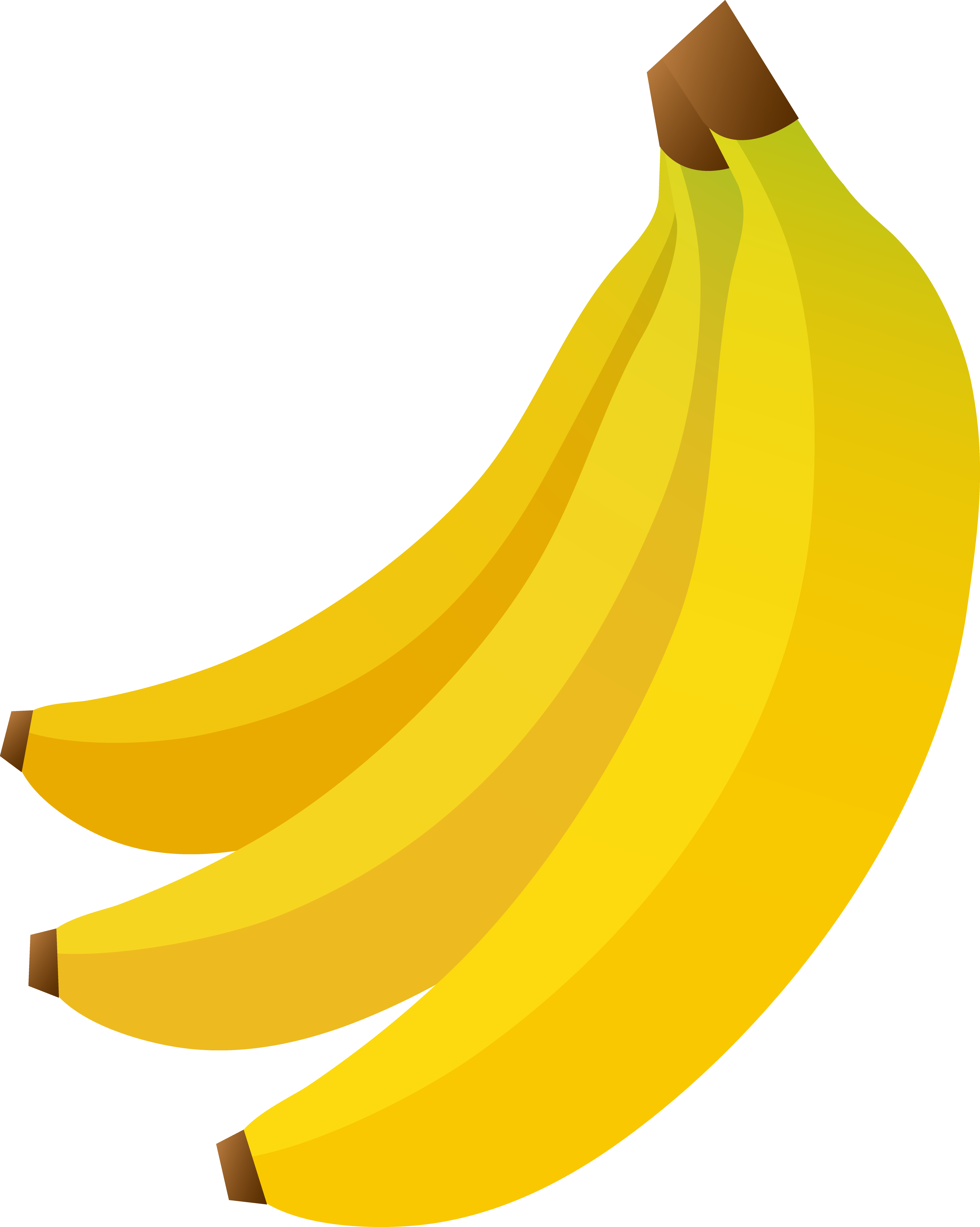 3596x4501 Banana Clipart Food For Kid