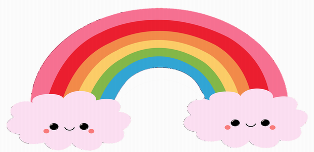 620x300 Rainbow Coloring Pages