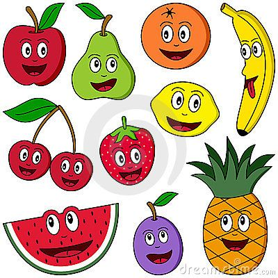 Food Groups Clipart