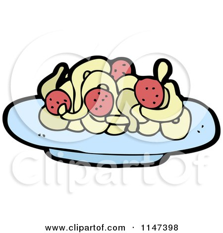 450x470 Meatball Clipart Plate Food