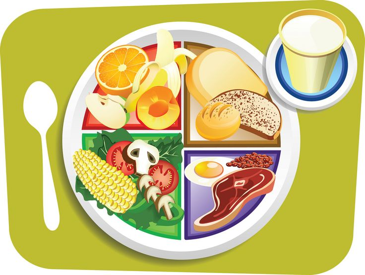 736x554 Plate Of Food Clip Art 134 Best Cartoon Food Art Images
