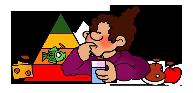 648x313 Science Clip Art By Phillip Martin, Food Pyramid