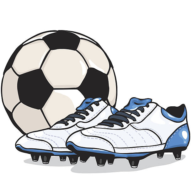 612x612 Soccer Ball And Cleats Clipart Amp Soccer Ball And Cleats Clip Art
