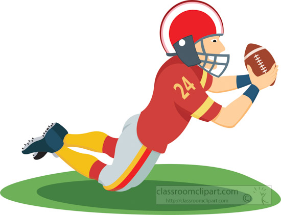 550x422 Football Pictures Clip Art Wide Receiver Football Player Player