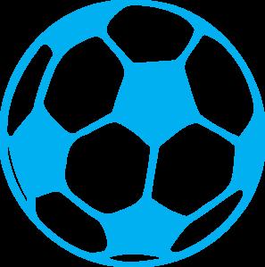 297x299 Blue Football Clip Art