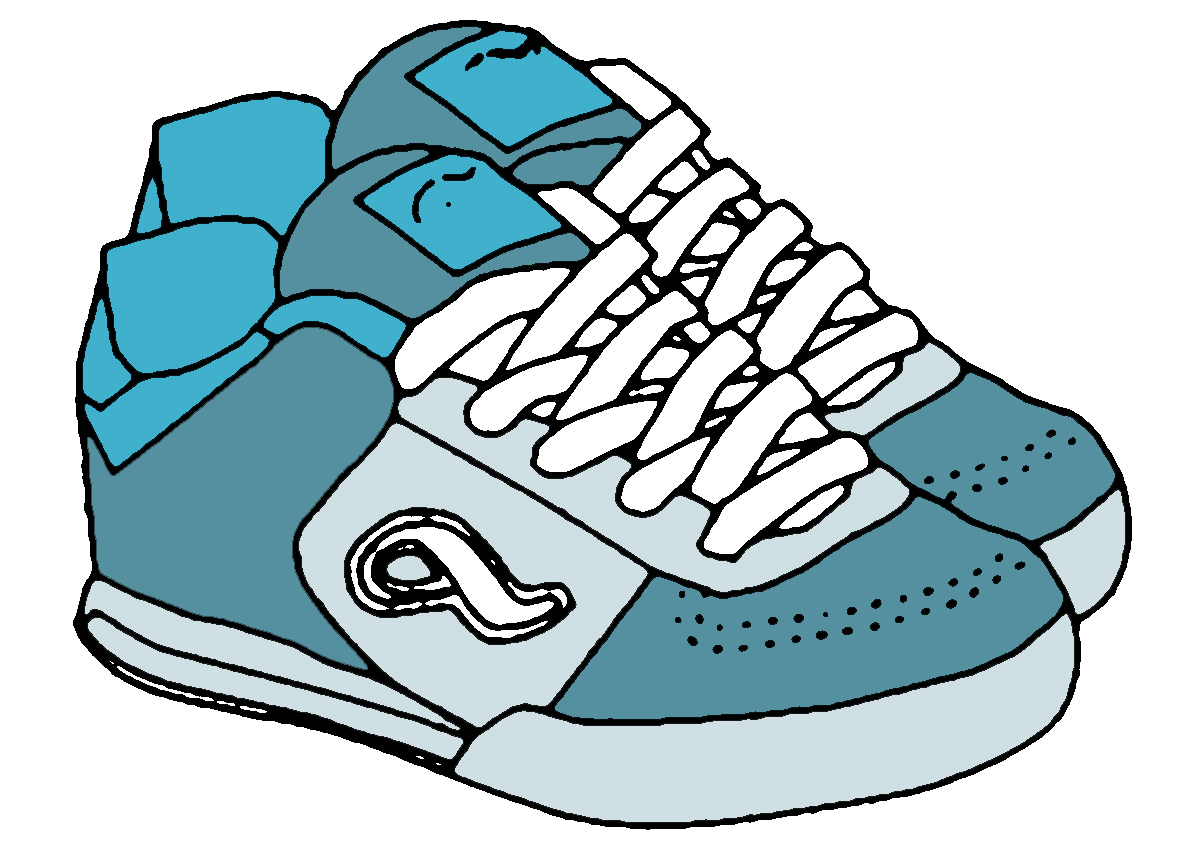 1200x850 Cool Design Shoes Clipart Free 1 Black And White Images Clip Art