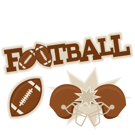 432x432 Football Set Svg Scrapbook Cut File Cute Clipart Clip Art Files