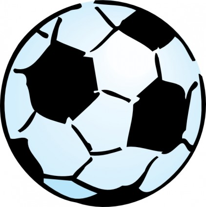 422x425 Free Cartoon Soccer Ball Clip Art Free Vector For Free Download