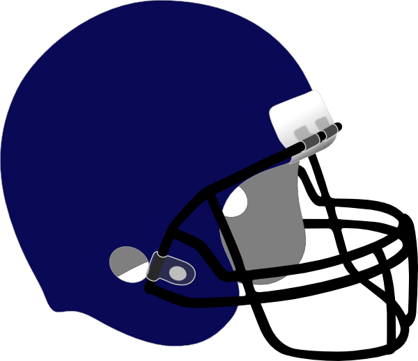 600x519 Nobby Free Football Helmet Clipart Blue Clip Art
