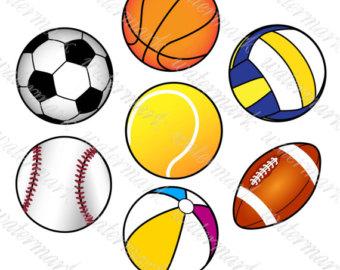 340x270 Soccer Ball Clipart Etsy