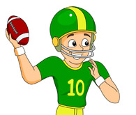 195x165 Football Pictures Clip Art Clip Art Nfl Football Season Clipart 1