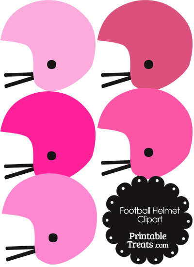 400x550 Pink Clipart Football Helmet