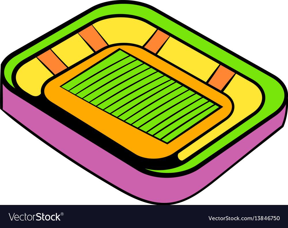 1000x791 Cartoon Football Stadium Free Download Clip Art