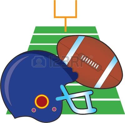 400x394 Clip Art Football Field Goal Clipart Panda