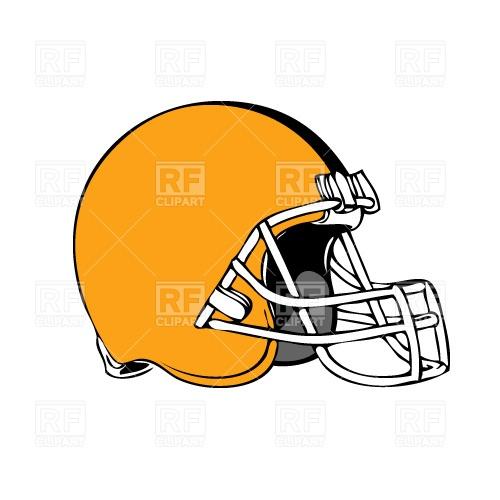 500x500 American Football Helmet Free Download Vector Clip Art Image