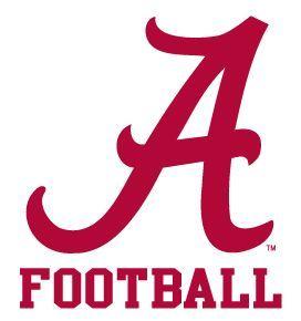 272x290 Alabama Crimson Tide Football Logo Clipart