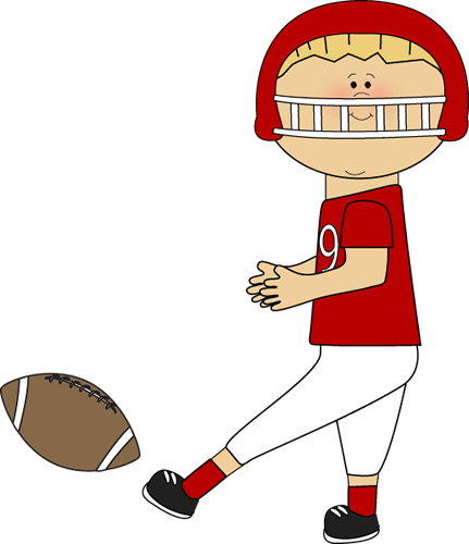 431x500 Football Clip Art