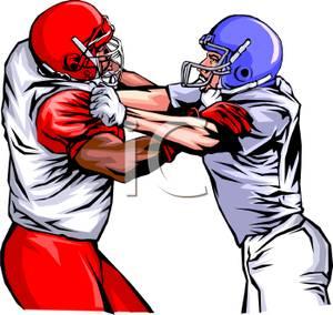 300x284 Football Player Clip Art