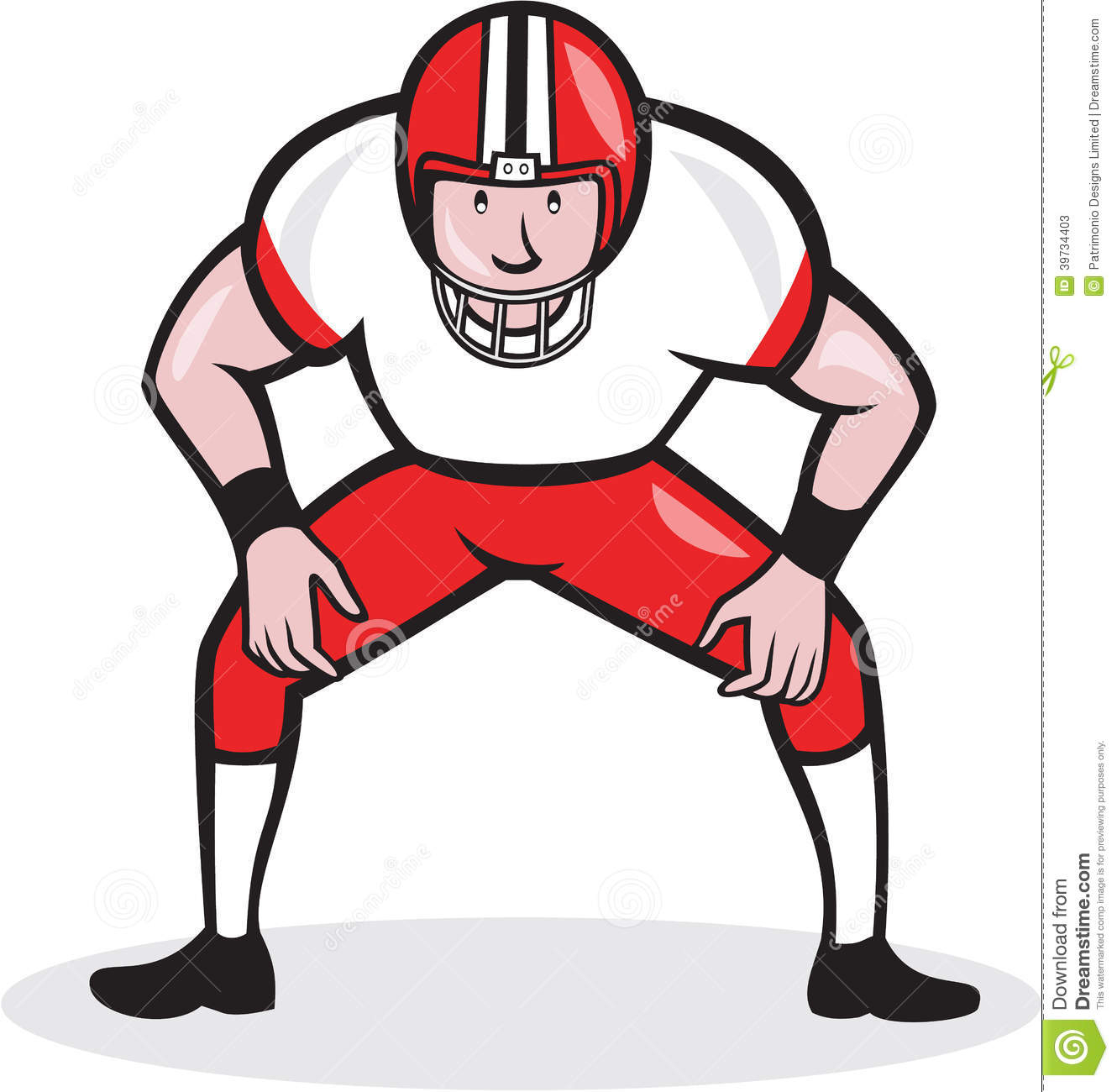 football player clipart at getdrawings com free for personal use