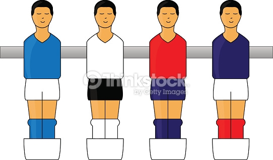 542x318 Football Figures Clipart