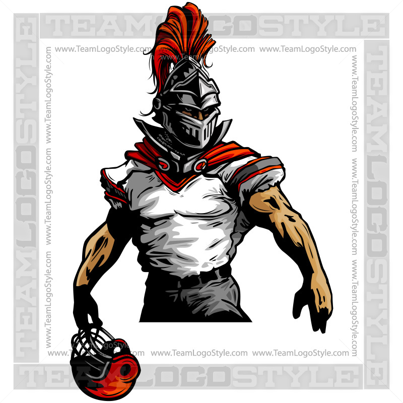 800x800 Knight Football Clipart