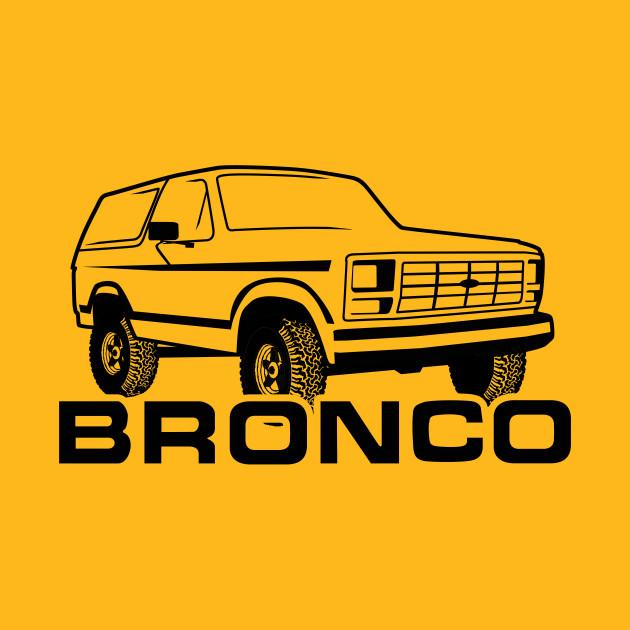 630x630 1980 1986 Ford Bronco Black Print Wtires