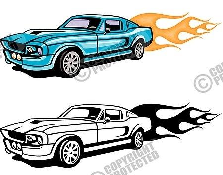 450x353 Ford Flames Clip Art
