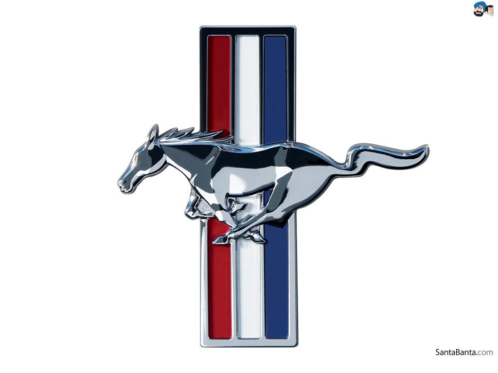 1024x768 Ford Mustang Logo Clip Art