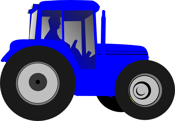 600x416 Tractor Color Tractor And Clip Art
