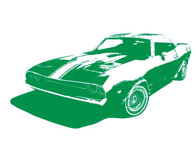 650x512 Buy Race Car Wall Sticker Mustang Race Car Fast