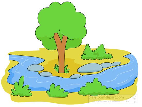 550x413 Clipart River