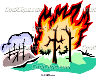 375x298 Fire Clipart Disaster