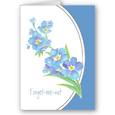 Forget Me Not Clipart