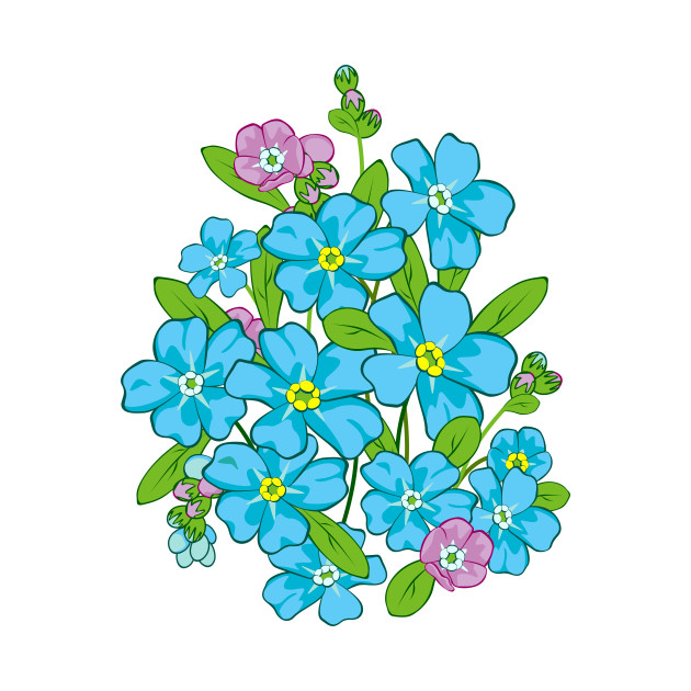630x630 Forget Me Not. Flowers