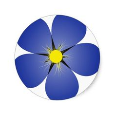236x236 Single Forget Me Not Flower