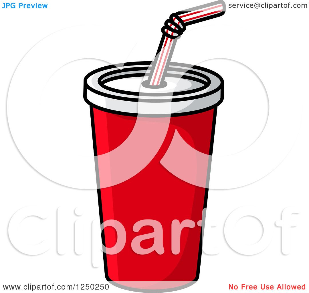 1080x1024 Clipart Of A Fountain Soda Cup