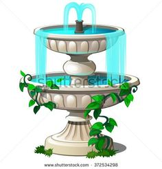 236x246 Fountain Png Clipart Clip Art Out Side Fountain