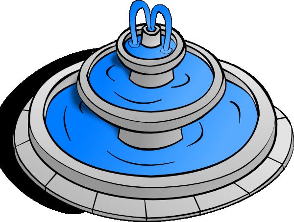 600x454 Fountain Clip Art Free Vector 4vector