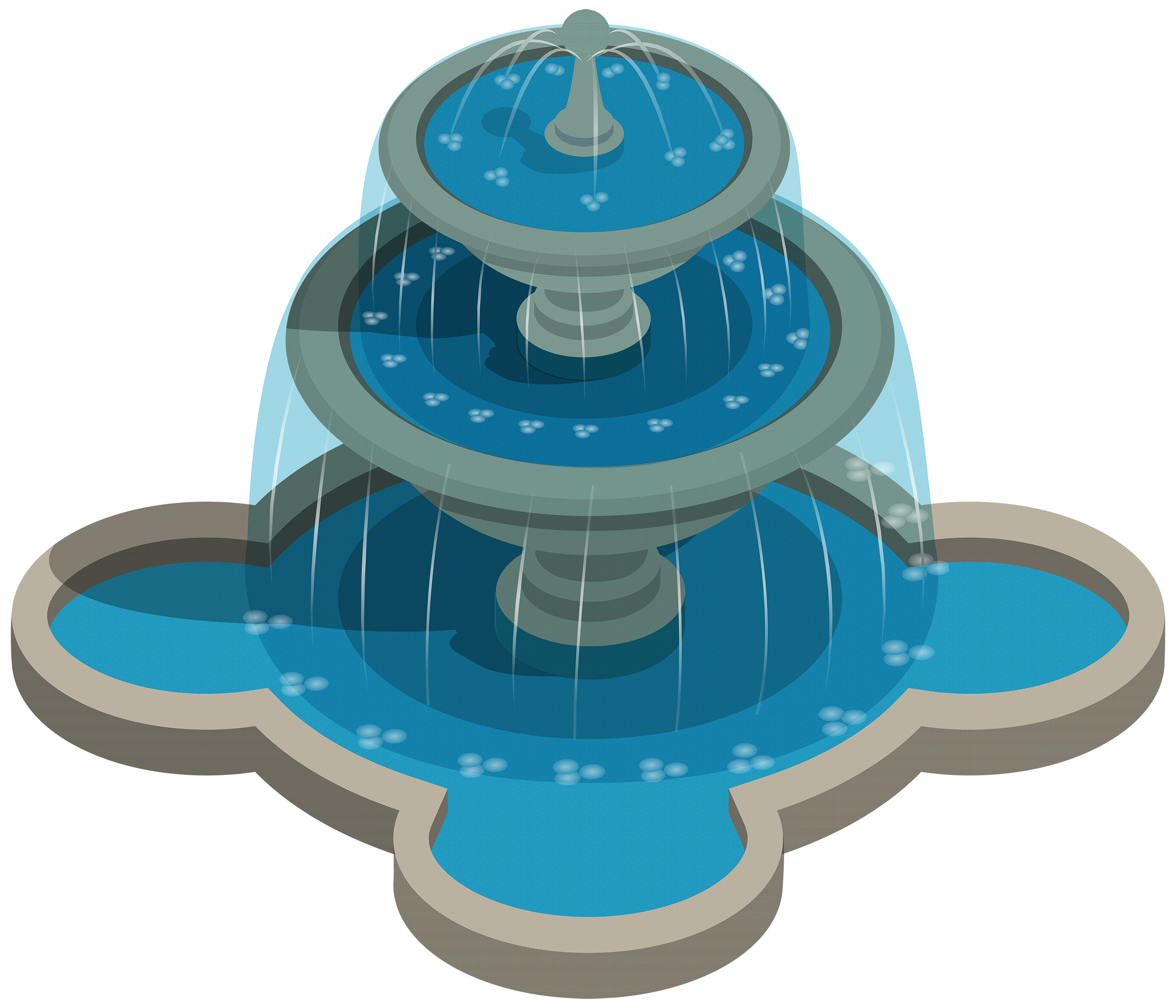 2500x2144 Water Fountain Png Clipart