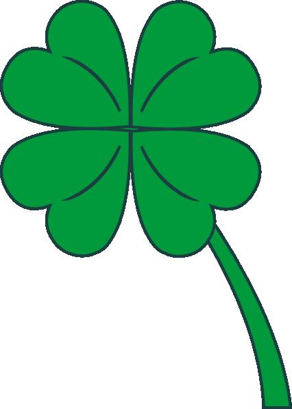426x595 Four Leaf Clover Clipart Clip Art Pin Tattoos