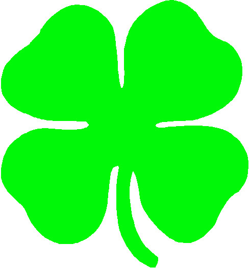 four leaf clover clipart at getdrawings com free for personal use rh getdrawings com 4-h clipart black and white 4-h clipart free