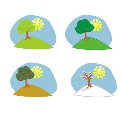 405x400 11 Best Seasons Images On Clip Art, Illustrations