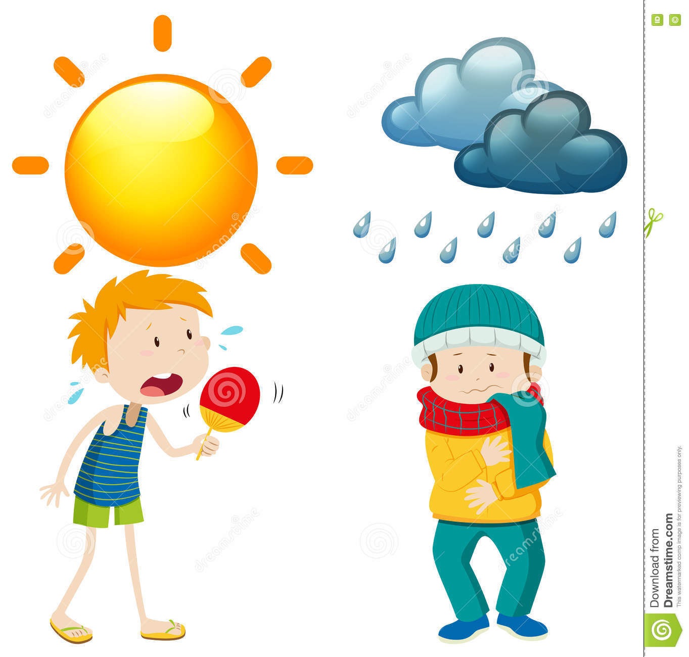 1363x1300 Collection Of Summer And Winter Clipart High Quality, Free