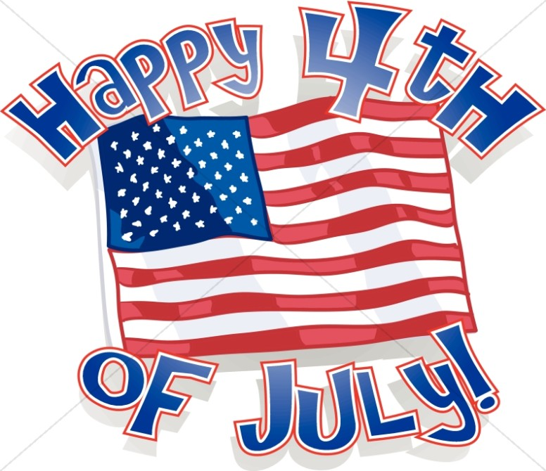 776x670 Independence Day Word Art, 4th Of July Wordart