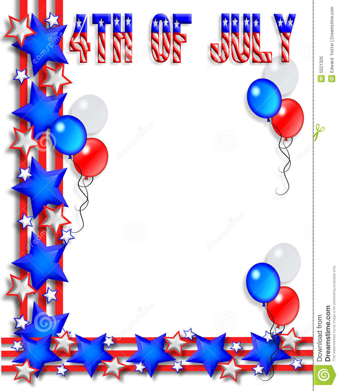 1130x1300 Fourth Of July Border Clip Art Fourth Of July Borders Clipart 1