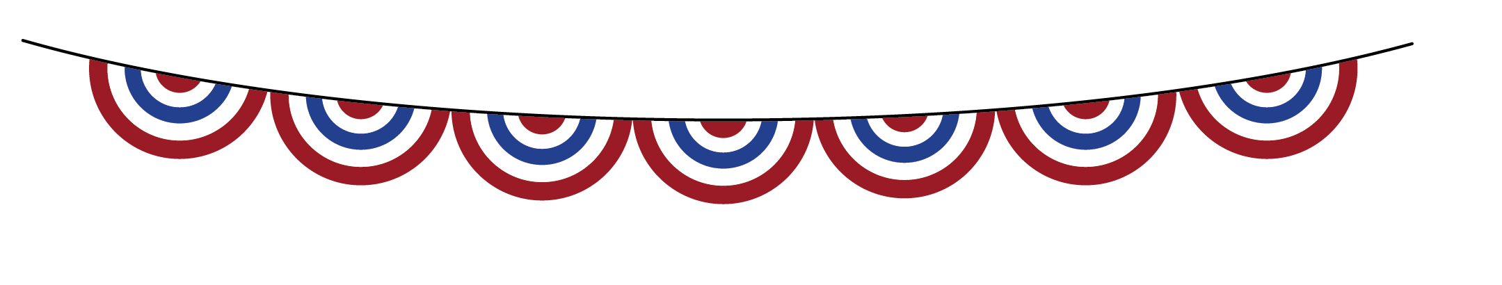 2159x410 4th Of July Clip Art, 3d Animated Images For Free