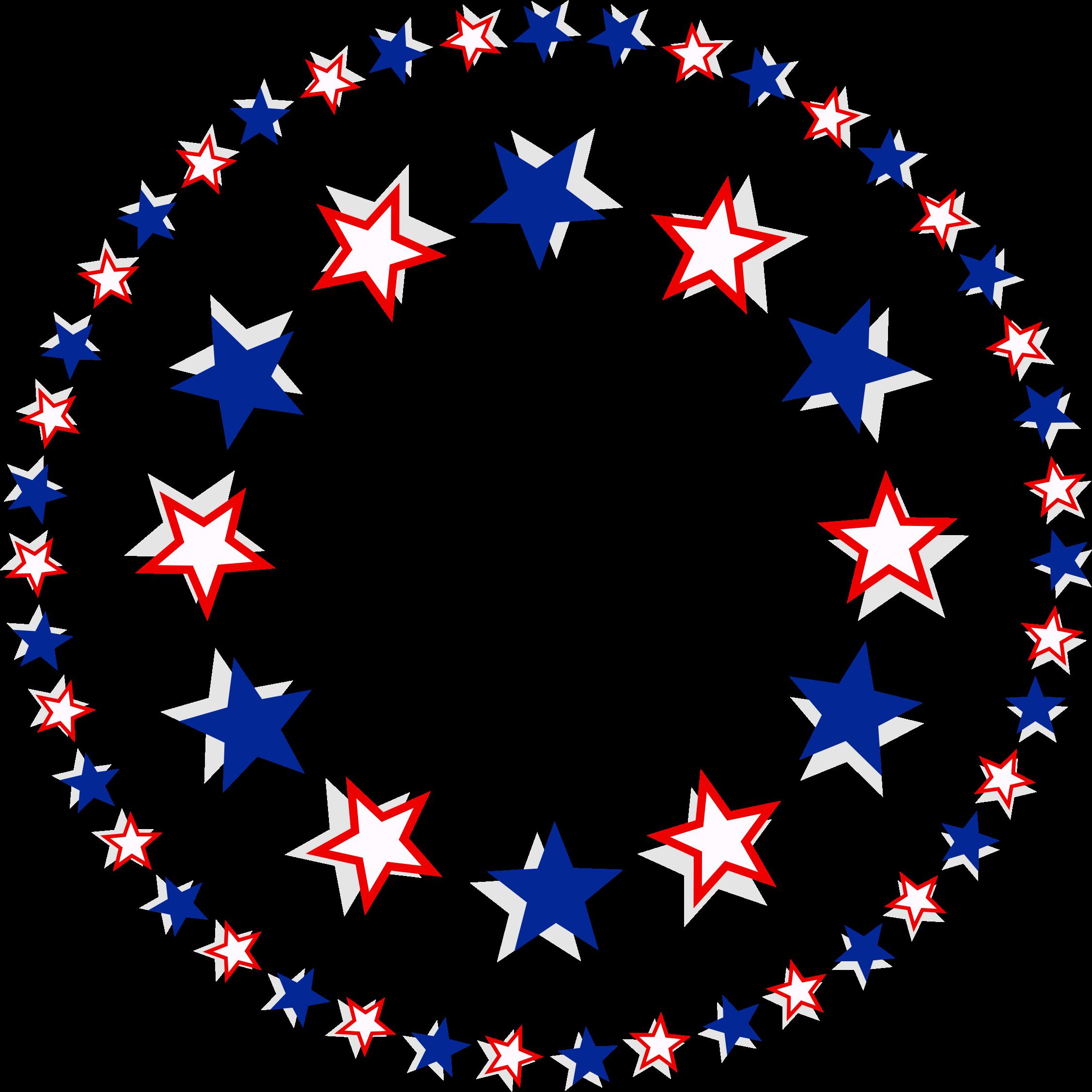2254x2255 Patriotic Usa Clip Art 4th Of July Scrapbook Graphics